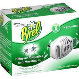 Diffuseur plaquettes anti-moustiques