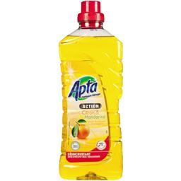 Nettoyant ménager citron et mandarine désincrustant