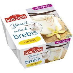 Yaourt au lait de brebis vanille