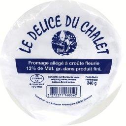 Fromage allégé à croûte fleurie