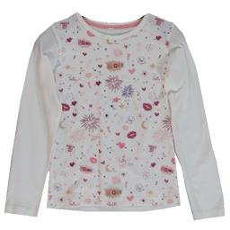 Tee-shirt écru fille taille 5 ans