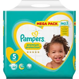 Pampers premium taille 5, 68 couches