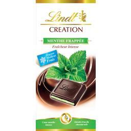 Création - Chocolat noir menthe frappée