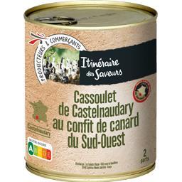 Cassoulet de Castelnaudary au confit de canard