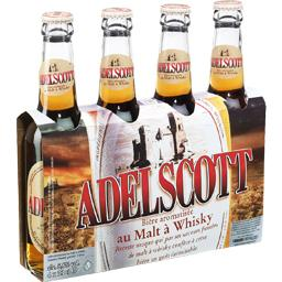 Bière aromatisée au malt à Whisky