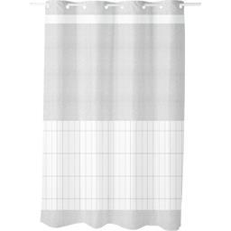 Rideau de douche 100% polyester Now 180x200 cm gris