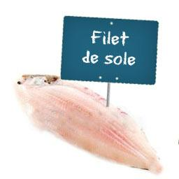 Filet de SOLE TROPICALE La portion à la demande à partir de 150