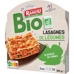 Lasagne de légumes bio