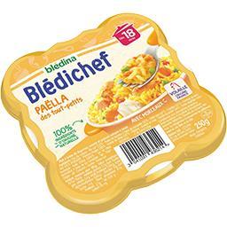 Blédina Blédina  - Paëlla des tout-petits, dès 18 mois l'assiette de 250 g