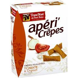 Apéri'Crêpes - Crêpes feuilletées tomate & oignon