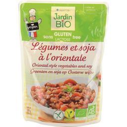 Légumes et soja à l'orientale BIO