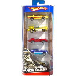 Assortiment de 5 véhicules, modèles assortis