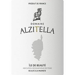 de l'Île de Beauté Domaine Alzitella vin Rosé 2017