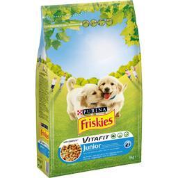 Vitafit - Croquettes au poulet pour chiens Junior