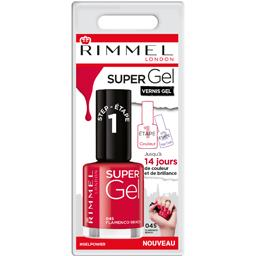 Rimmel London Vernis Super Gel 045 Flamenco Beach le tube de 12 ml