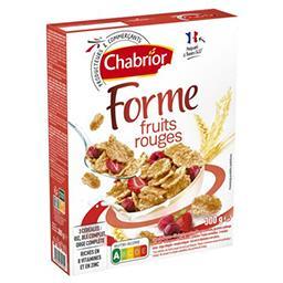 Céréales Forme & fruits rouges