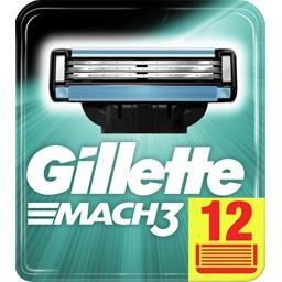 Mach3+ lames de rasoir pour homme 12recharges