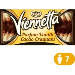 Glace parfum vanille cacao craquant