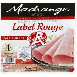 Jambon cuit supérieur découenné dégraissé Label Rouge