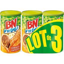 BN Biscuits petit déjeuner extra céréales le paquets de 200 g