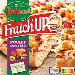 Buitoni Buitoni Fraîch'Up - Pizza poulet sauce barbecue