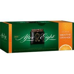 Nestlé Chocolat After Eight saveur menthe orange la boite de 200 g