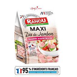 Maxi dés de jambon qualité supérieure