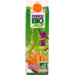Jus de carotte 100% pur jus BIO