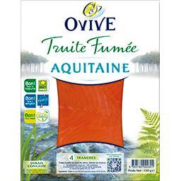 Truite fumée Aquitaine