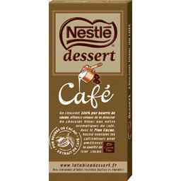 Dessert - Chocolat blanc à l'arôme naturel de café