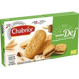 Biscuits Double Dej goût chocolat noisette