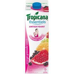 Essentiels - Jus de fruits Antioxydant orange grenade cassis