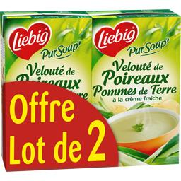 Liebig Pur'Soup - Velouté de poireaux pommes de terre à la ...