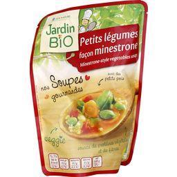 Nos Soupes Gourmandes - Petits légumes façon minestrone BIO