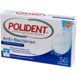 Nettoyant anti bactérien pour appareils dentaires