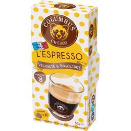 Capsules de café L'Espresso intensité 8