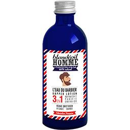 Homme - L'eau du Barbier 3 en 1 visage barbe citrus ...