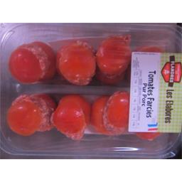 Charcuterie Flandres Tomates farcies pur porc la barquette de 1,20 kg