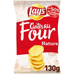 Les Cuites au Four - Chips nature