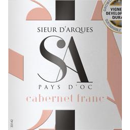 Vin de Pays d'Oc cabernet franc, vin rosé