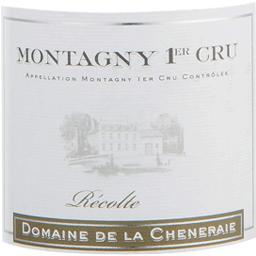 Montagny 1er Cru vin blanc Domaine de la Chêneraie