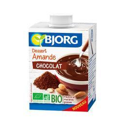 Dessert amande chocolat BIO