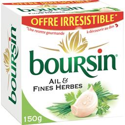 Boursin Fromage ail & fines herbes