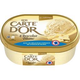 Les Authentiques - Crème glacée chocolat blanc