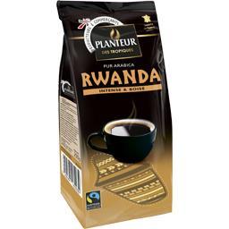 Rwanda, café moulu pur arabica, café des mille collines, équitable