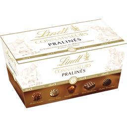 Lindt Connaisseurs - Assortiment de bonbons de chocolats p... la boite de 18 - 188 g
