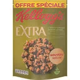 Kellogg's Extra - Céréales 4 noix et copeaux saveur caramel