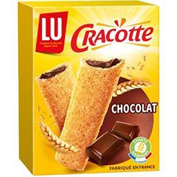 Cracotte - Bâtonnets de céréales fourrés au chocolat