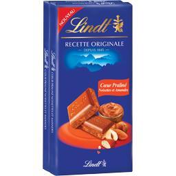Chocolat au lait cœur praliné