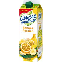 Caresse Antillaise Nectar banane passion la brique de 1 l